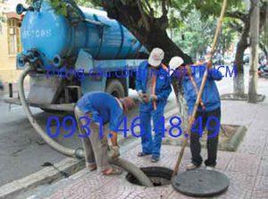 Dịch vụ thông cống nghẹt TP.HCM