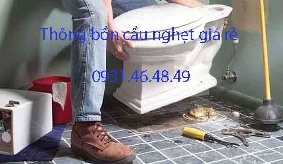 Thông bồn cầu nghẹt, Phường 11 quận Phú Nhuận giá rẻ