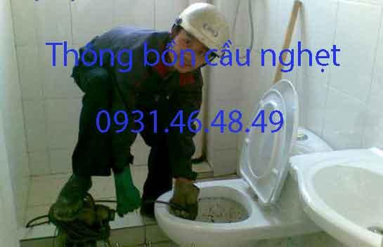 Thông bồn cầu nghẹt, Phường 15 quận Phú Nhuận giá rẻ