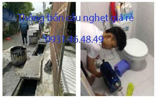 Thông bồn cầu nghẹt, Phường 26 quận Bình Thạnh