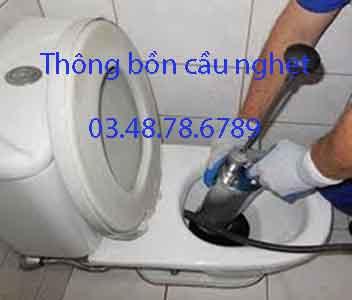 Thông bồn cầu nghẹt, Phường 4 quận Phú Nhuận giá rẻ