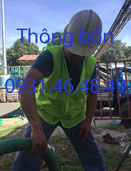Thông bồn cầu nghẹt, Phường 5 quận Phú Nhuận giá rẻ