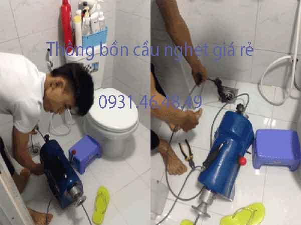 Thông bồn cầu nghẹt, Phường 8 quận Phú Nhuận giá rẻ