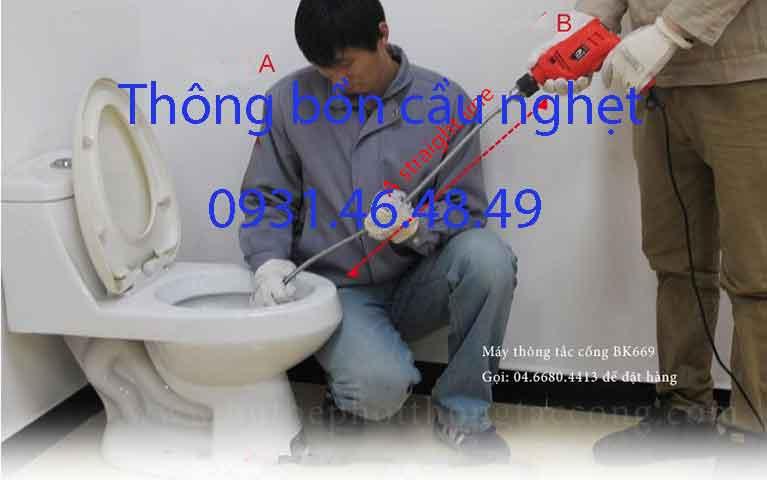 Thông bồn cầu nghẹt, Phường 9 quận Phú Nhuận giá rẻ