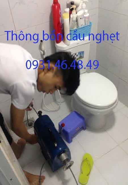 Thông bồn cầu nghẹt, Phường Tăng Nhơn Phú A, Quận 9