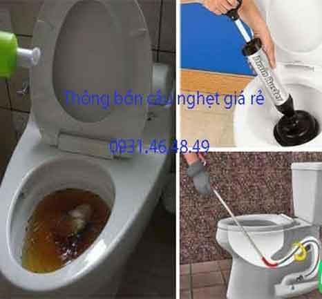 Thông bồn cầu nghẹt, Phường Tăng Nhơn Phú B, Quận 9