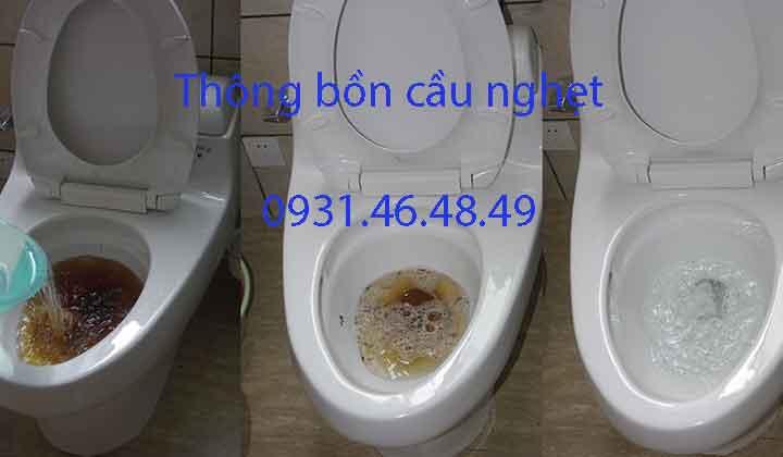 Thông bồn cầu nghẹt, Phường Thạnh Xuân quận 12 giá rẻ