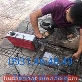 Dịch vụ thông tắc cống tại huyện Thanh Trì