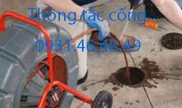 Dịch vụ thông tắc cống tại huyện Đông Anh