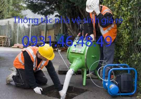 Thông tắc nhà vệ sinh tại huyện Thanh Trì