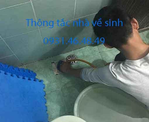 Thông tắc nhà vệ sinh tại quận Nam Từ Liêm