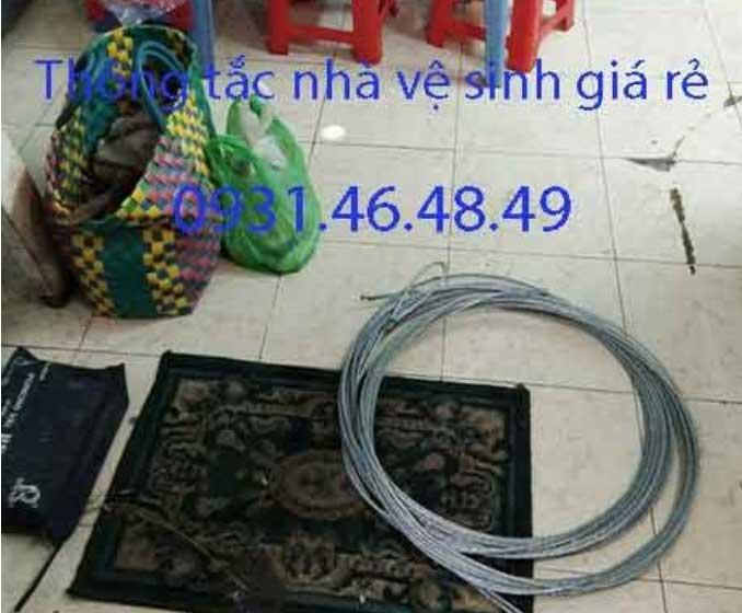 Thông tắc nhà vệ sinh tại huyện Sóc Sơn