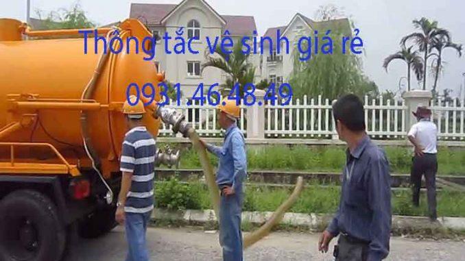 Thông tắc nhà vệ sinh tại quận Bắc Từ Liêm