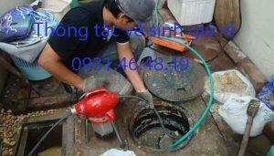 Thông tắc nhà vệ sinh tại quận Hà Đông