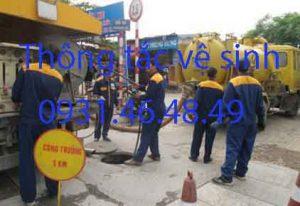 Thông tắc nhà vệ sinh tại quận Ba Đình
