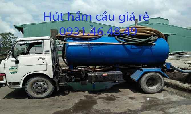 Hút hầm cầu tại Huyện Hóc Môn giá rẻ