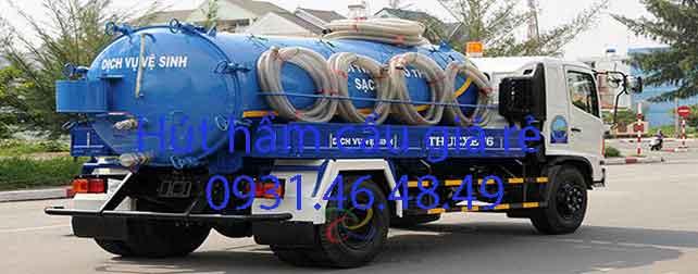 Hút hầm cầu tại Xã Lê Minh Xuân huyện Bình Chánh