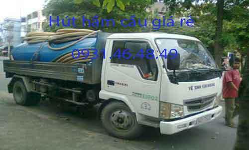 Hút hầm cầu Xã Phong Phú huyện Bình Chánh giá rẻ