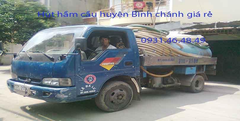 Hút hầm cầu tại Xã Quy Đức huyện Bình Chánh giá rẻ