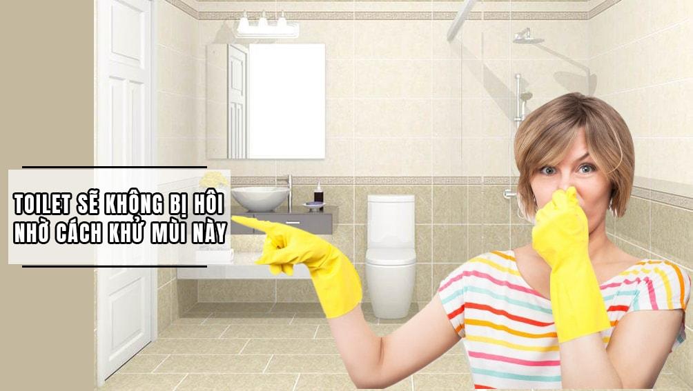 Cách xử lý mùi hôi