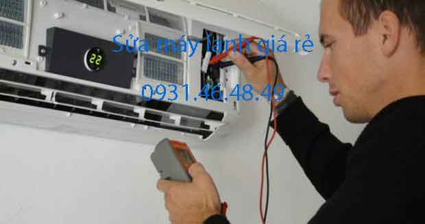 Sửa máy lạnh giá rẻ tại Huyện Củ Chi